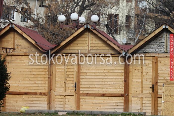 производство на дървени търговски павилиони до 9кв.м